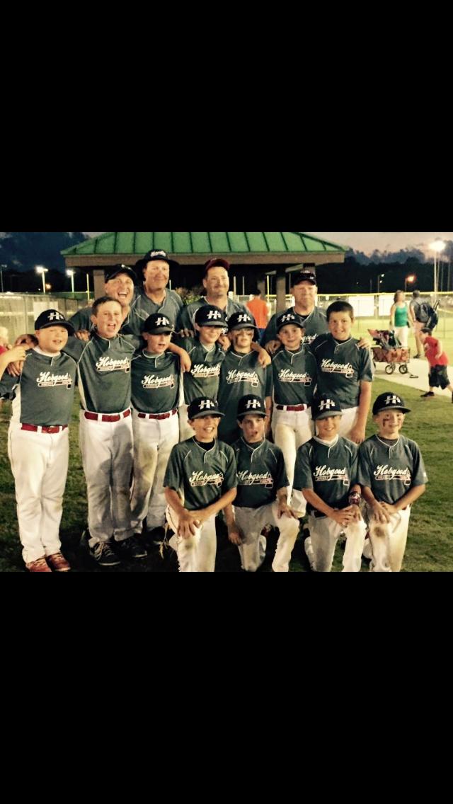 Grand Slam Sports Tournaments Baseball Hobgood Braves Blue 12u A