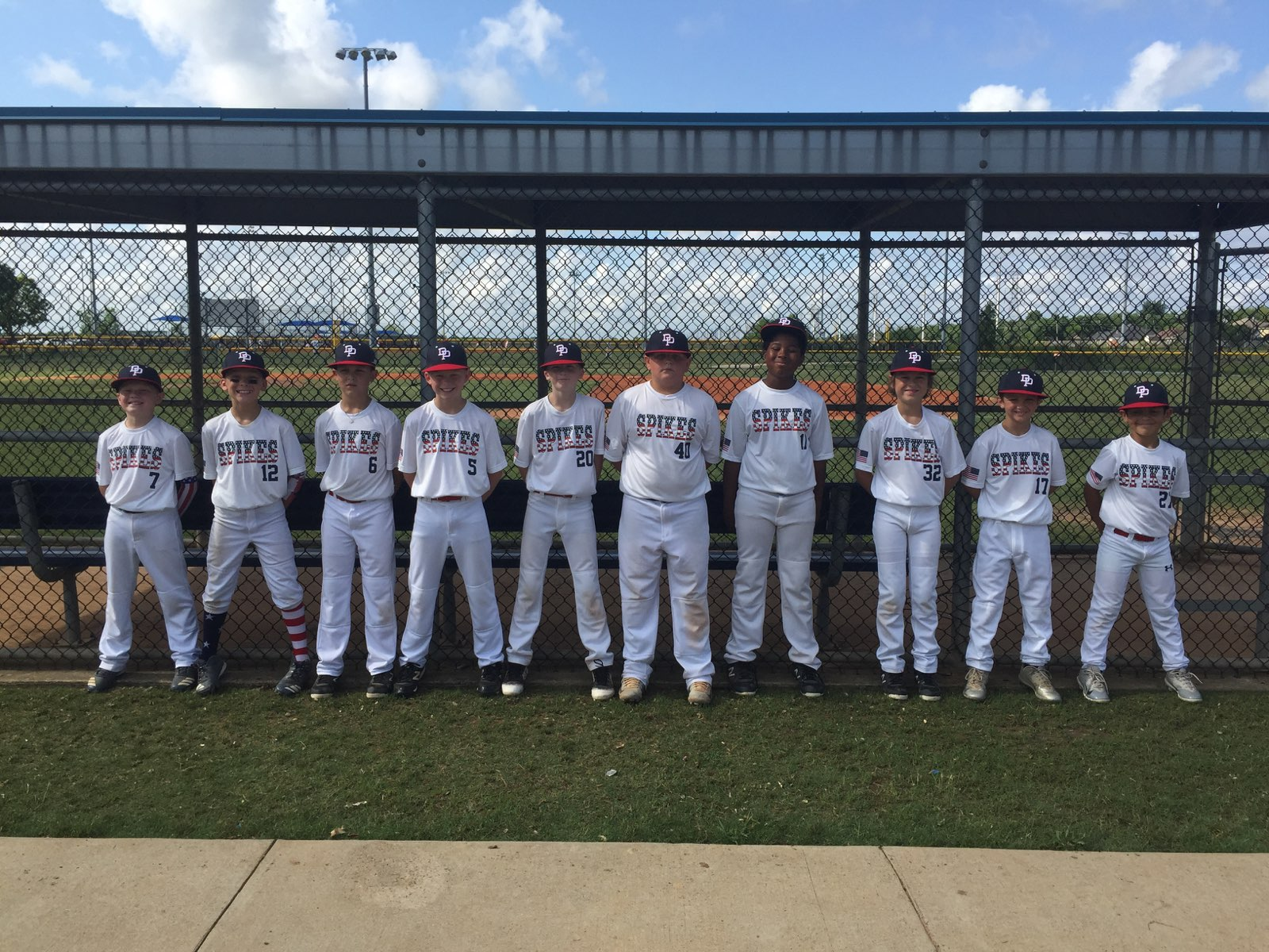 Grand Slam Sports Tournaments Baseball Deer Park Spikes 9u A